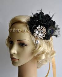 great gatsby headband vintage inspired headband the great gatsby headband 1920s