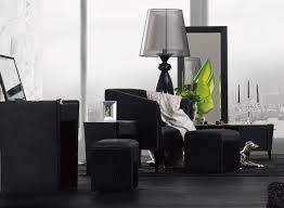 wall colors to suit a bedroom with black modern furniture set la