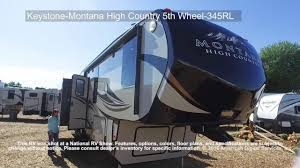 montana travel trailer floor plans keystone montana high country 5th wheel 345rl youtube
