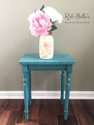 Painted Accent Table Table Prepossessing Custom Made Hand Painted Accent Table