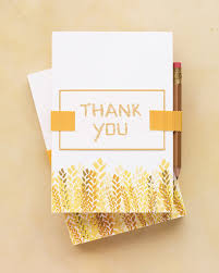 Wedding Thank You 9 Tips For Writing Thank You Notes For Wedding Gifts Martha