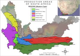 Africa Regions Map by Changes In South African Wine Regions General Discussion