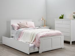 Single Bed Frame With Trundle King Bed With Trundle Frame Cozy King Bed With Trundle
