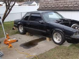 fox mustang drag car build the backyard budget turbo bbf fox build