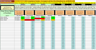 Trucking Spreadsheet Trucking Management Software And Important Date Tracker Spreadsheet