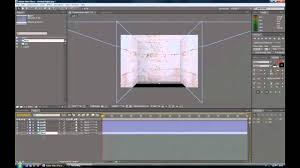 3d Room Adobe After Effects Tutorial 3d Room With 3d Text Youtube