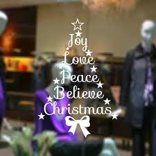 aliexpress com buy joy love peace believe christmas quotes stars
