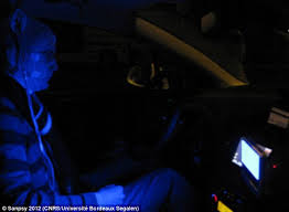 All Dashboard Lights Come On While Driving How A Blue Light In Your Car U0027is As Good As Coffee At Keeping You