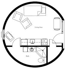 Square Feet by Plan Number Dl3202 Floor Area 804 Square Feet Diameter 32 U0027 2