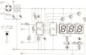 kết quả hình ảnh cho digital voltmeter circuit mạch điện tử