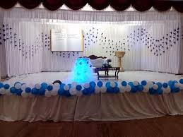 communion decoration partytime with aladin kochi kerala birthday party event