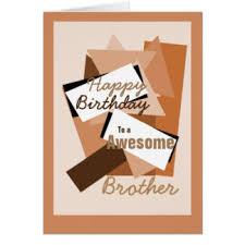 happy birthday brother greeting cards zazzle com au