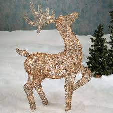 25 unique outdoor reindeer decorations ideas on