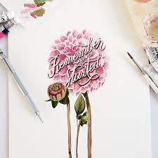 creative watercolor lettering quotes by june digan 99inspiration