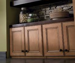Maple Cabinets With Mocha Glaze Eastport Recessed Panel Cabinet Doors Homecrest