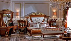 High Quality Wooden Carved With Cooper Accessary Royal - High quality bedroom furniture