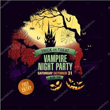 saturday night halloween party halloween party poster design vector template stock vector image