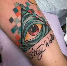 stay woke by chelcie dieterle at 7th street tattoo in little rock
