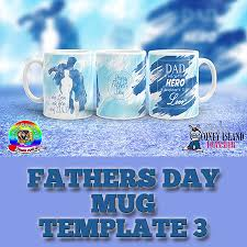 fathers day mug s day mug template 3 coney island transfer