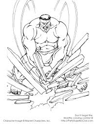 incredible hulk coloring pages free print cartoon incredible hulk
