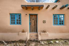 adobe style home pueblo house style house and home design