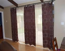 Sliding Glass Door Curtains Iron Sliding Glass Door Curtain Rod Types Tips Hanging Sliding