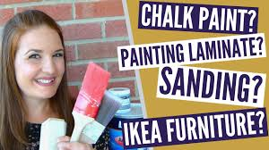 can chalk paint be used without sanding can you paint without sanding chalk paint vs regular paint painting ikea furniture and more