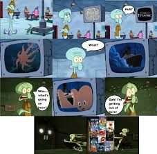 100 funny pictures of squidward image kiss on forehead jpg