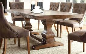 Restoration Hardware Trestle Table Knock Off by Awesome Restored Dining Room Tables Gallery Home Design Ideas