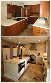 Kitchen Remodel Before After by Before U0026 After Kitchen Renovation Guthmann Construction