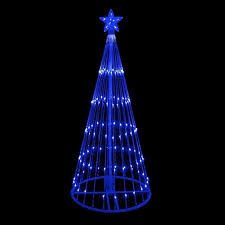 lighted outdoor decorations lighted trees christmastopia