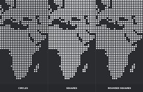 World Map Vector Dotted World Map Vectors U2014 Medialoot