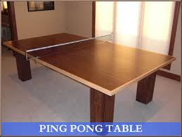 wood for table tennis table woodworking ping pong table