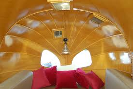 Vintage Airstream Interior by Vintage Trailer Interiors From The 1930 U0027s From Oldtrailer Com
