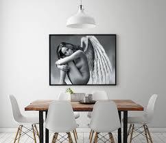 nackt im wohnzimmer a1244 stadt mädchen nackt engelsfigur landschaft hd leinwand