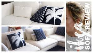 Review Sofa Beds by Ikea Soderhamn Sofa Review Elise Sheree Youtube