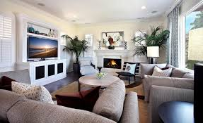 large living room with fireplace and tv centerfieldbar com