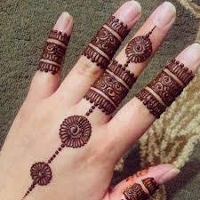 25 finger mehndi designs for 2018 crayon