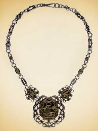 necklace with ring meaning images Jewelry of the 18th 19th centuries the colonial williamsburg jpg