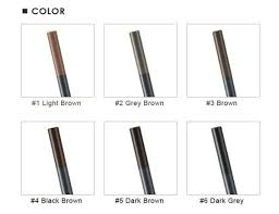 light grey eyebrow pencil the face shop designing eyebrow pencil 3g lmching group