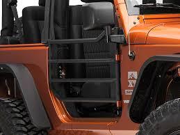 2009 jeep wrangler x accessories barricade wrangler front adventure doors textured black j102013