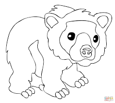 100 black bear coloring page polar bear 23 coloring page free