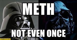 Meth Not Even Once Meme - meth not even once darth vader mask starecat com