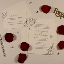 wedding invitations nj la papeterie morristown nj wedding invitations