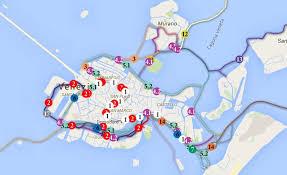 venice vaporetto map venice open data view vaporetto routes in