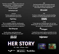 a video game about a woman talking to the police her story