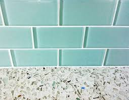 Recycled Glass Backsplashes For Kitchens Recycled Glass Kitchen Countertops Subway Tile Backsplash Tiles
