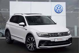 volkswagen touareg white used cars in stock at listers volkswagen evesham for sale
