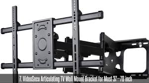 Articulating Wall Mount 70 Inch Tv Top 10 Best Tv Turntables Youtube