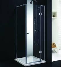 elite 900mm x 900mm frameless hinged shower door enclosure 8mm glass